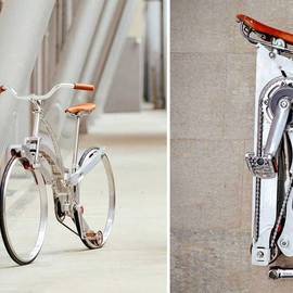 THIS MIGHT BE THE WORLD'S MOST COLLAPSIBLE BIKE