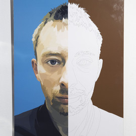 "ENLIGHTMENT - Paint ""Thom Yorlke"""