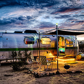 kate's lazy desert  Airstream Trailers