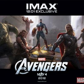 Marvel's The Avengers IMAX-exclusive poster art by Ryan Meinerding