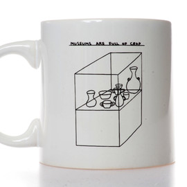 David Shrigley - Museums are Full of Crap mug
