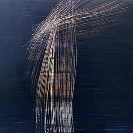 Ann Penman Sweet - Superconductor Ⅱ, 2009, mixed media on canvas