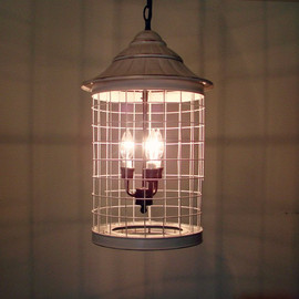 MableDear - Hanging Light Bird Cage