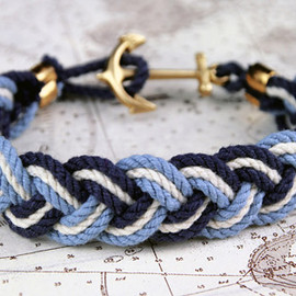 Kiel James Patrick - Turk's Head Knot Rope Bracelets / Obedaggett Docks