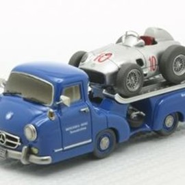 チョロQ - M.Benz transporter&W196 Hand Made Model Kit