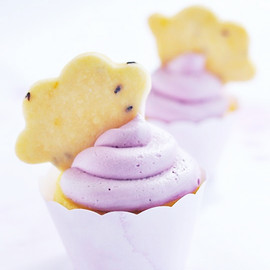 Sweetapolita - La La Lavender & Lemon Cloud Cupcakes