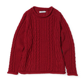 nonnative - SAILOR SWEATER - SHETLAND WOOL