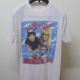 T-SHIRT - VINTAGE WAYNE'S WORLD