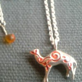hollywood ranch market - camel necklace