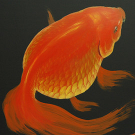 Ryusuke Fukahori - The picture of a goldfish