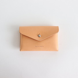 Hender Scheme|UNISEX - ONE PIECE CARD CASE #NATURAL [in-rc-opc]