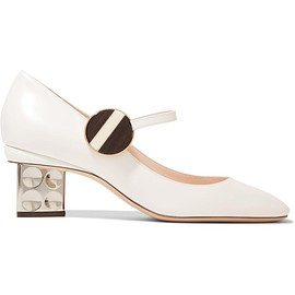 Nicholas Kirkwood - Ciara leather Mary Jane pumps