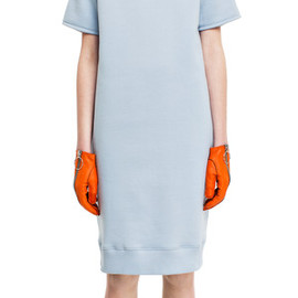 Acne Studios - Lois fleece sky blue