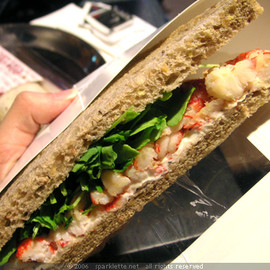 Pret A Manger - London - Crayfish Sandwich/ザリガニのサンドイッチ