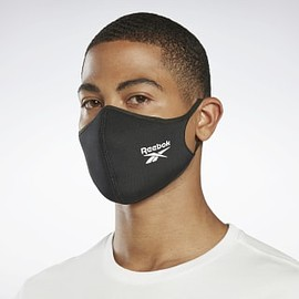 Reebok - Face Covers M/L (3 Packs) - Black