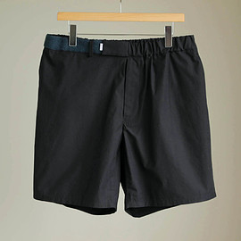 Graphpaper - Typewriter Original Wide Easy Shorts #navy