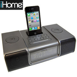 Portable FM Stereo Boombox for iPhone/iPod