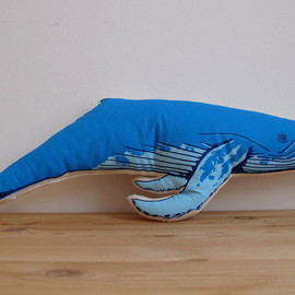 shannonbroder - Plush Whale Pillow