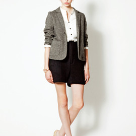 evaloren - jacket & shirt & short pants