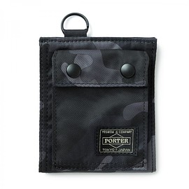"HEAD PORTER - ""JUNGLE"" WALLET (S) BLACK"