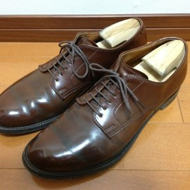 ALDEN - Mahogany Cordovan Modified Last Plain Toe