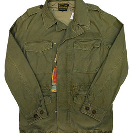 POLO RALPH LAUREN - MILITARY FIELD JACKET CMBT OLIVE