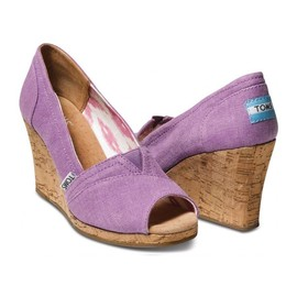 TOMS - Women's Wedge Canvas