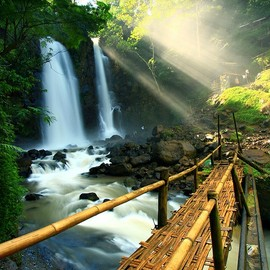 Indonesia  - Cinulang Waterfall