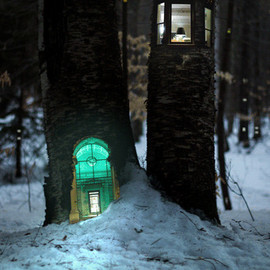 Daniel Barreto - Miniature Homes In Trees Perfect For Tiny People And Elves