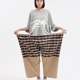 mintdesigns - ANREALAGE(アンリアレイジ)の【ANREALAGE×mintdesigns】WIDE&SHORT PRINTPANTS(パンツ)|その他2