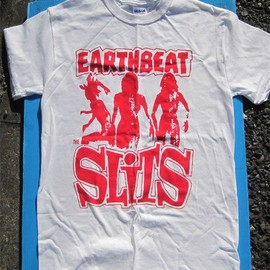 SLITS Tシャツ EARTHBEAT