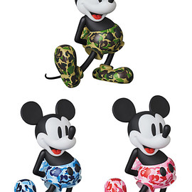 MEDICOM TOY - VCD BAPE(R) MICKEY MOUSE