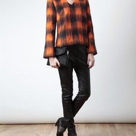 J.W. Anderson - CHECKED MOHAIR EFFECT JUMPER