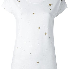Ann Demeulemeester Blanche - スターディテール Tシャツ
