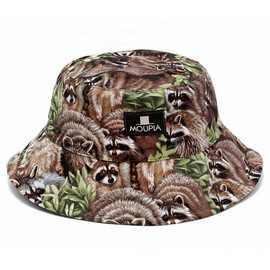 MOUPIA - Raccoons Foldable Bucket Hat