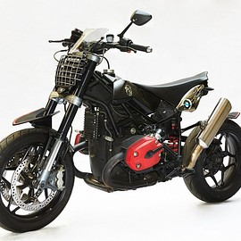 Tony's Toy Custom Motorcycles - BMW R 1200 supermoto