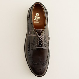 Alden - R for J.Crew Longwing bluchers