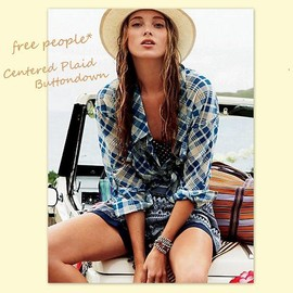 Free People - Buttondown Shirt
