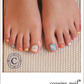 coquine nail - colorfui+star