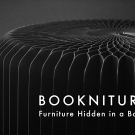 MIKE/PLATEAUS - BOOKNITURE- Furniture Hidden in a Book