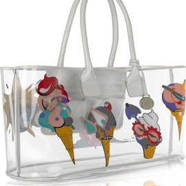 Mulberry - Ice-cream clear tote