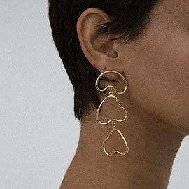young frankk - ARP EARRINGS