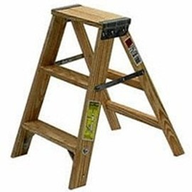 michigan ladder - WOOD STEP LADDER