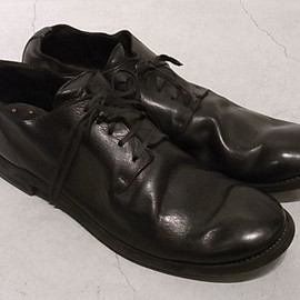 GUIDI - ONE PIECE LOW CUT SHOES