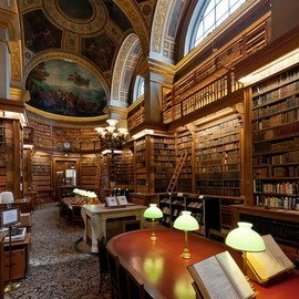 Paris, France - Library
