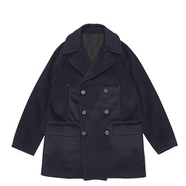 TEATORA - Document Coat double TX-Navy