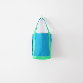 TEMBEA - Baguette Tote Mini - Blue / Kelly