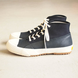 STUSSY Livin' - GS Rain Shoes by Moonstar #navy/white