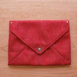 finger marks - fabric PC cover 001 / red