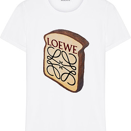 LOEWE - Toast printed stretch-cotton T-shirt